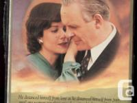 Factory sealed VHS of Anthony Hopkins and Debra Winger