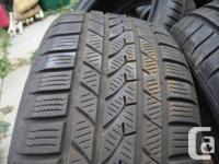 I AM SELLING 4 TIRES FALKEN EURO WINTER TIRES 235/55/18