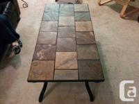 Living Room table  Rectangle-shaped marble leading