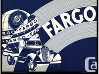 Three very cool Fargo truck specific large format