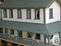 This doll house was handmade in the 1940's and was