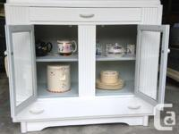 An awesome farmhouse kitchen cabinet painted cloud