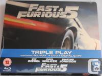 I have a copy of the Fast & Furious 5 Blu-Ray Steelbook