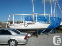 The Edel 665 is a small sailboat that assumes it's