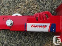 Fastway flip jack, this unit automatically raise's and