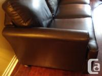 We purchased this 3 seater faux leather sofa from