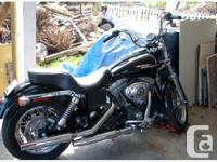 2005 Harley Davidson Dyna Super Glide 1450 cc with low
