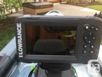 Includes the following: Lowrence Hook 5 TS (Fish finder