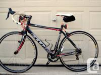 I'm selling my 2012 Felt Z85 54cm road bike in
