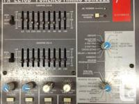 $700 obo  Fender portable 16 channel mixer with 250