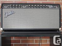 FENDER 65 TWIN REVERB AMPLIFIER HEAD:. Reissue