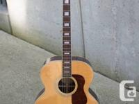 I have a really nice Fender acoustic Jumbo for sale