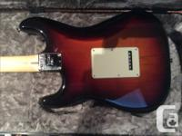 Brand new Fender American Professional Stratocaster,