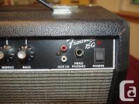 Fender Amp Fender Amp Fender Frontman 15G guitar amp. 8