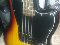 Fender squire vintage modified jaguar bass in as new