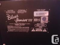 Selling my Fender Blues Junior III which was bought new