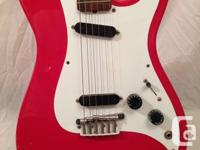 1981 - Fender Bullet 1, electric guitar, red, Alder