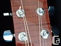 brand new fender acoustic with fisherman p/u system