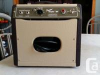 I'm selling a Fender Champ 600 tube amp. It's in great