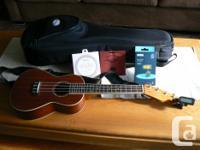 Fender Concert Mino'Aka ukulele for sale, as new. Brand