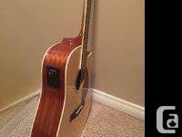 Model CD320ASCE - Dreadnaught Cut-Away Acoustic
