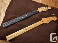 For sale: an EJ Strat Neck & '62 Thin Skin Tele Neck.
