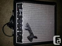Fender Frontman 10G amp . Mint condition. $50. can