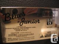 Fender Blues Jr 15 watt all tube. Classic sound and