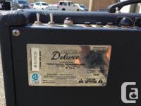 USA Made, 40 watt Tube Amp. Speaker is a Celestion