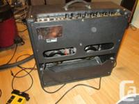 This amp is in very nice condition, tolex, speakers and