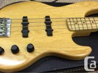 American made 1992 Fender Jazz Bass Plus. It is in