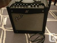 Selling a Fender Mustang v1 Guitar Amp. The only reason