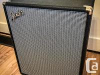 Fender Rumble 200 Combo Amp in like-new condition. This