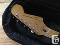 2008 Fender Squier Stratocaster. This is one of the