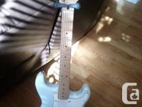 FENDER SQUIER STRATOCASTER DAPHNE BLUE 50s CLASSIC ++