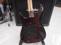 Fender squire obey Stratocaster with tremolo, very nice