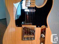 """This vintage-style Squier """"Classic Vibe 50's"""""""