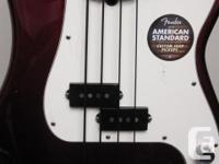 This is a very slightly used, USA built Fender Standard