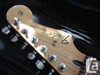 Fender Standard Stratocaster -Candy Apple Red finish