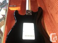 """2011 Fender """"Blackie"""" Stratocaster in Mint condition."""