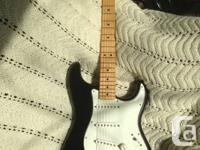 2012 Fender Stratocaster, made in Mexico.  Features a