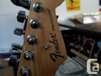 Excellent condition. The Standard Stratocaster guitar