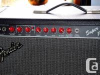 Fender Super 112 Guitar amp. All tube 60 watt 12 inch