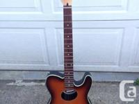 2003 - FENDER Teleacoustic guitar. Quite great seeming