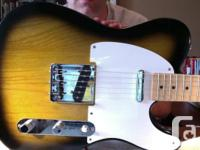2006 Classic Series FIFTY's Telecaster. Bridge PU is a