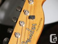 Fender Telecaster (Acoustasonic) guitar (+ generic