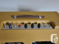 Hand wired by Robby Kirsch, famous amp builder in