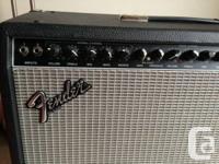 2x 65 watt Stereo Chorus Amp 2x12 Fender Speakers Duel