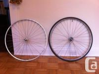 A set of Fiamme red label tubulars (tough as nails)