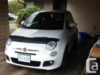 White 2012 2 door Fiat 500 Sport for sale  Has been